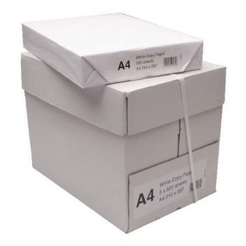 A4 Printer & Copier Paper White 80gsm / 5 x 500 sheets